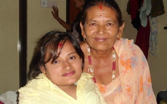 私とお母さん
