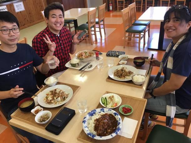 今回は3名の留学生が参加しました。