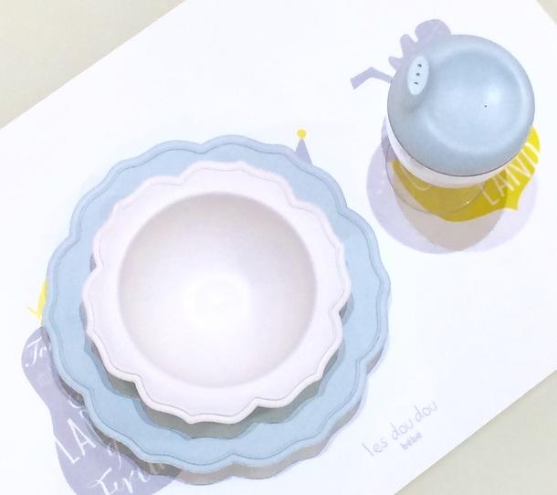 白小皿&ブルーボール