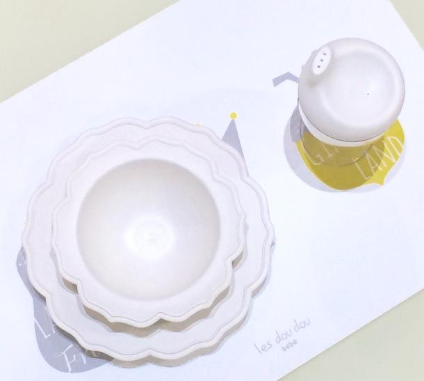 白小皿&ボール