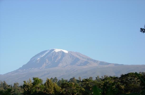 世界遺産キリマンジャロ山とその森