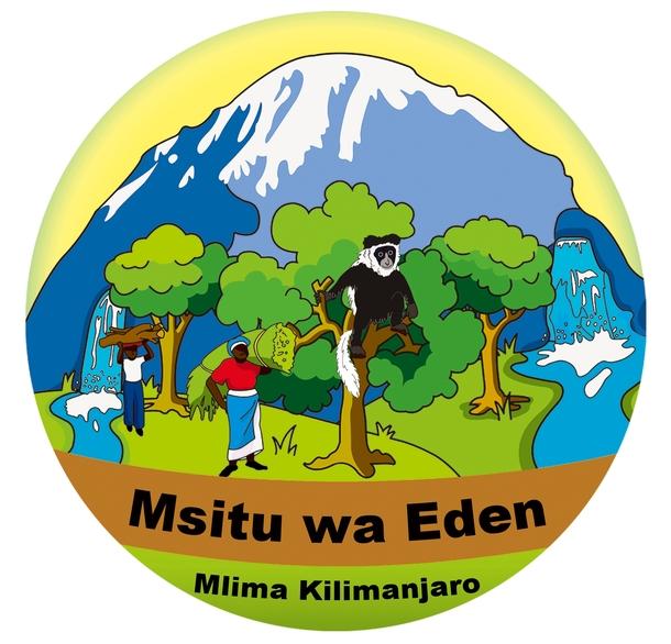 長く森を守ってきたキリマンジャロの村人たちが決めた「エデンの森」のシンボルマークです!