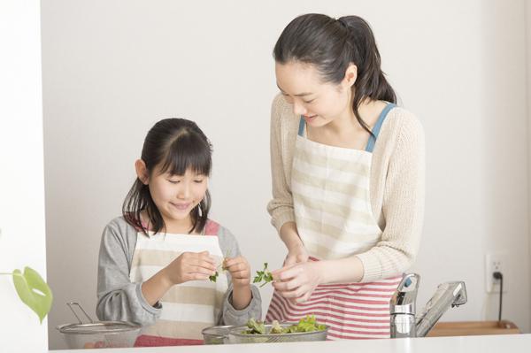 親子で作る料理教室イメージ