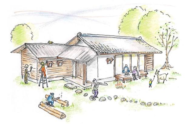 改修後の【小さな空き家】のイメージ
