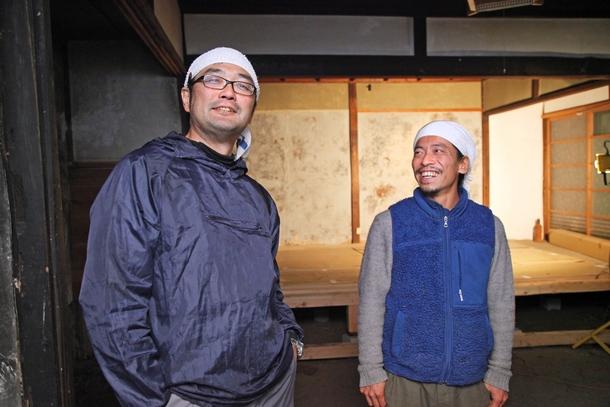 福井朝登さん(左)と平井崇さん(右)