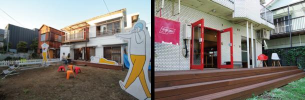 カマタ_クーチ / モクチン企画事務所(左)、蝉semi フラッグシップストア(右)