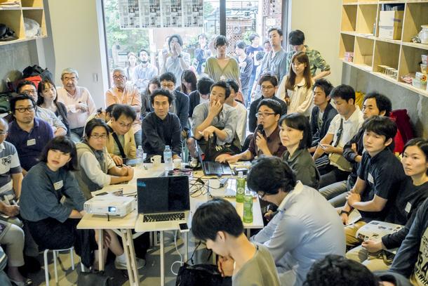 蒲田の未来を考える「カマタフューチャーセッション(#KAFS)」第一回の様子(撮影:吉屋亮)