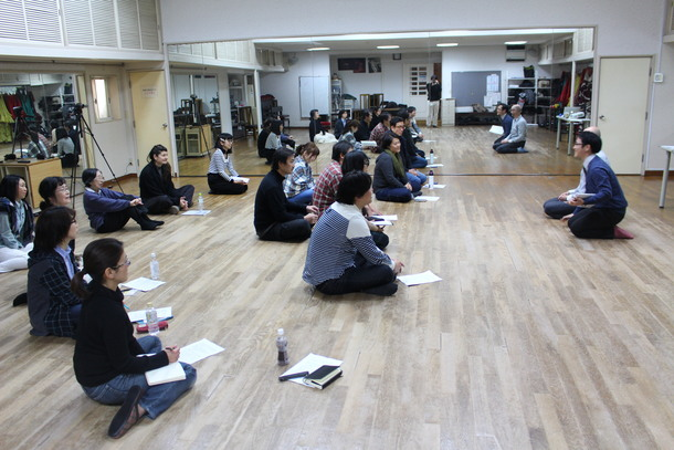 イギリスの演劇教育家来日ワークショップ