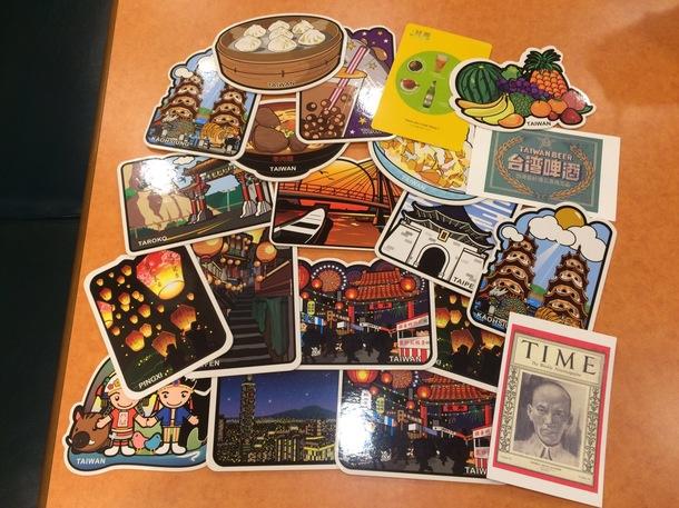 台湾のポストカード