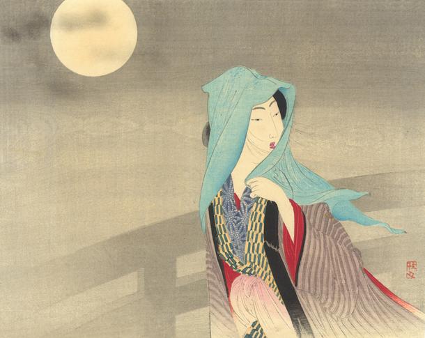 月下之美人武内桂舟