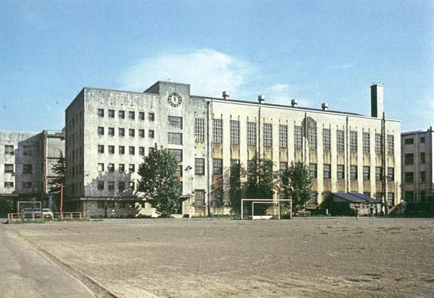 閉学直前の東京教育大学附属図書館
