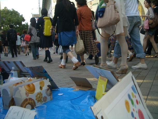 2011年の神戸IDAHO。人ごみにマイクを向けるには勇気がいった。