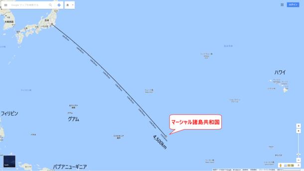 日本との位置関係
