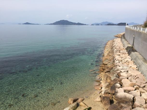 周防大島の海岸線