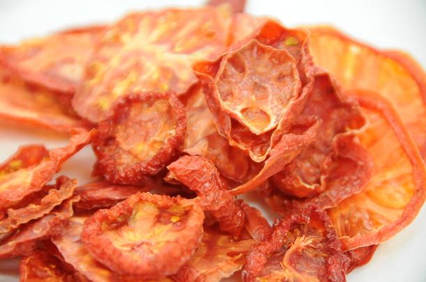 乾燥後トマト