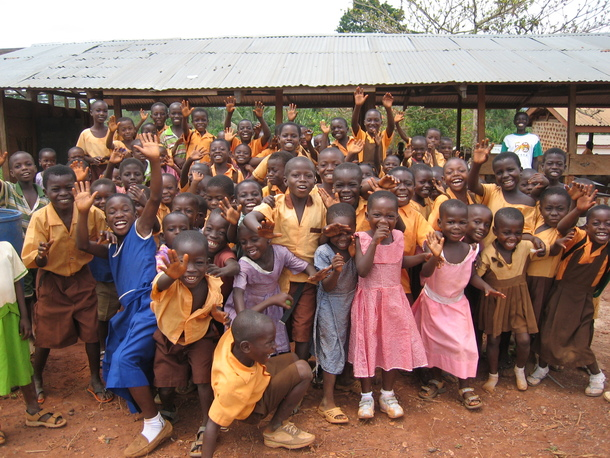 子どもたちの笑顔にいつも癒されます