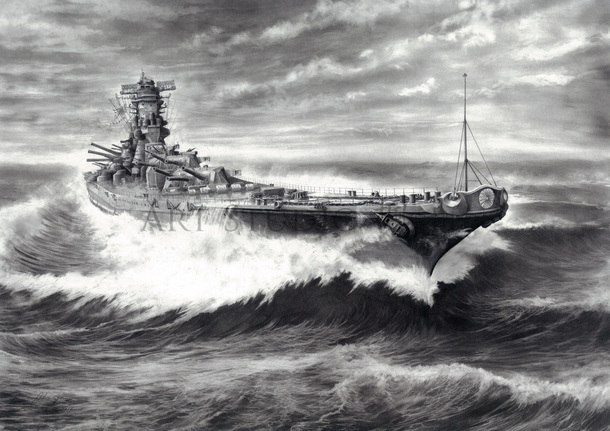 孤高の浮城-戦艦 大和 2605-