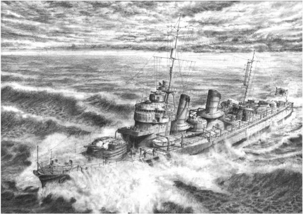 平成25年奉納 駆逐艦「雷」