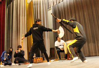 千代田高校 練習風景