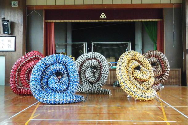 浜田養護学校 練習風景