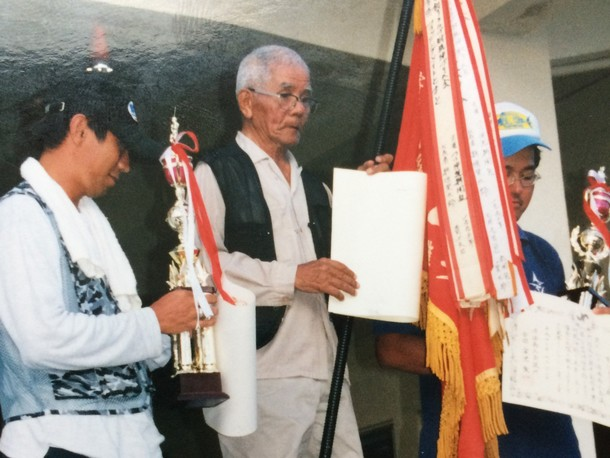 県知事旗争奪釣り大会の様子