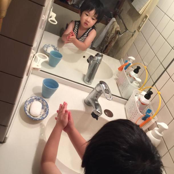 手洗いうがいもバッチリ!