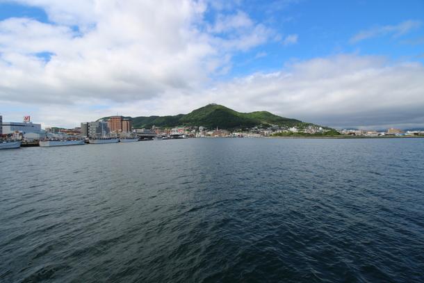 函館山の裾に広がる西部地区