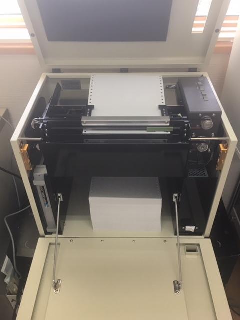 点字印刷機