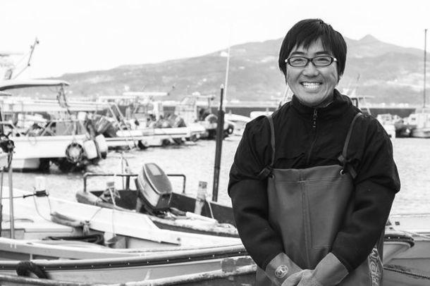 海苔漁師 岩本さん