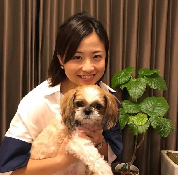 中島さんと愛犬のあずきちゃん