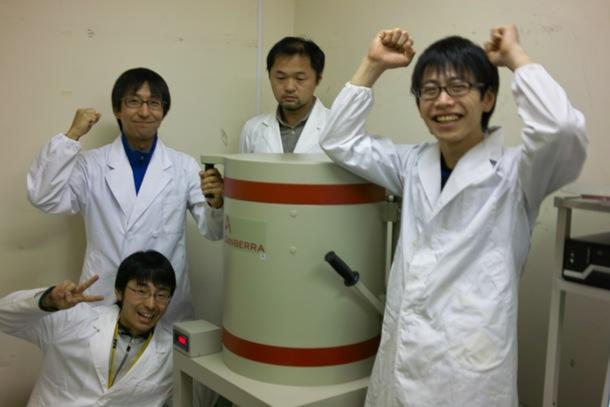 ゲルマニウム半導体検出器導入記念