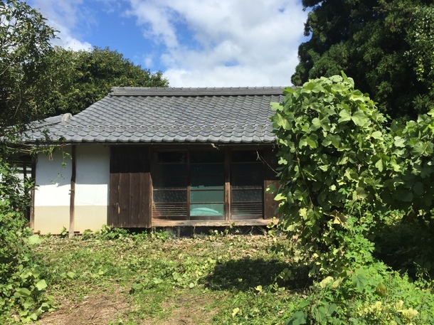 今回改修した空き家のビフォー(2016年8月)