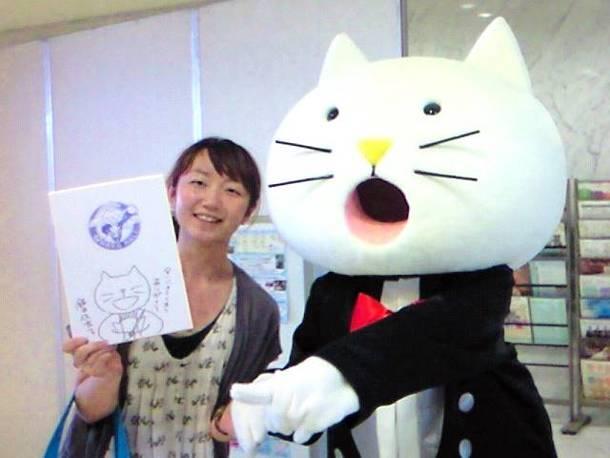 滋賀県びわ湖ホールのゆるキャラ にゃんばら先生も飯田佳奈子さんが手がけたキャラクターです