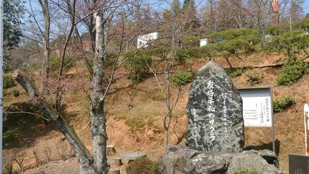 アロハ桜石碑