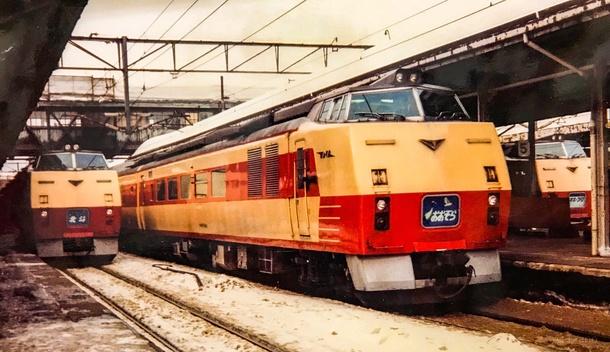 札幌駅のキハ183