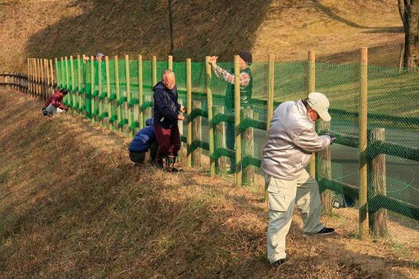 ドッグラン外柵建設工事