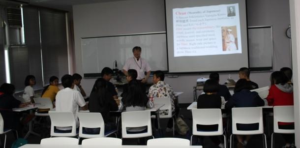 Japanology授業風景