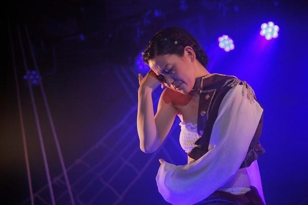 『マナナン・マクリルの羅針盤』初演時の舞台写真