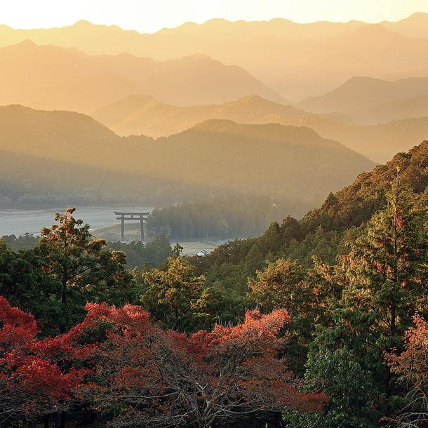 本宮町遠景 ©熊野本宮観光協会