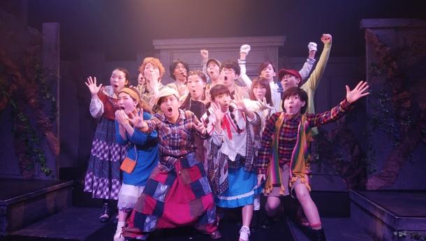 レインメーカー大阪公演終演後の舞台写真