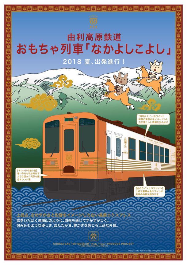おもちゃ列車「なかよしこよし」...