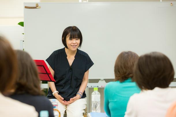 堤久美子理事長の講演会