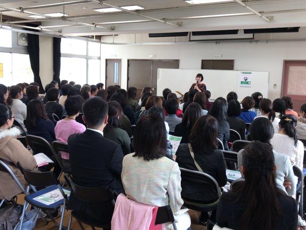 調布市の小学校PTA講演会