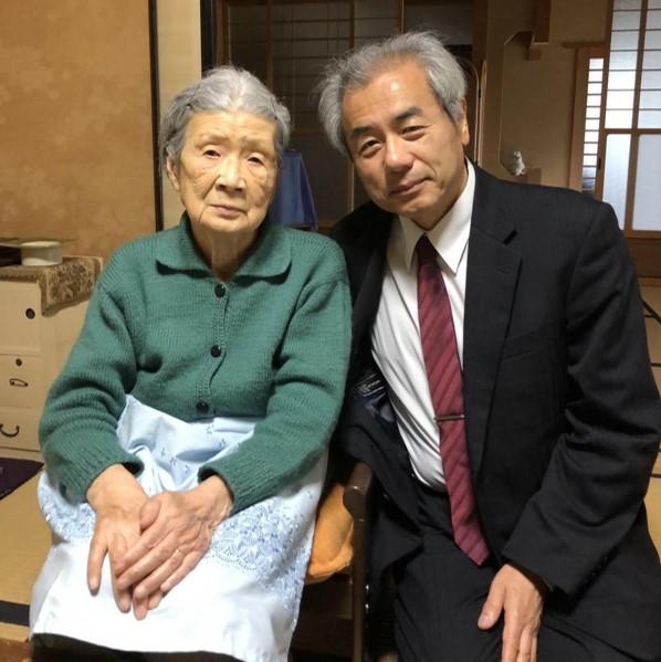 久子様と森館長