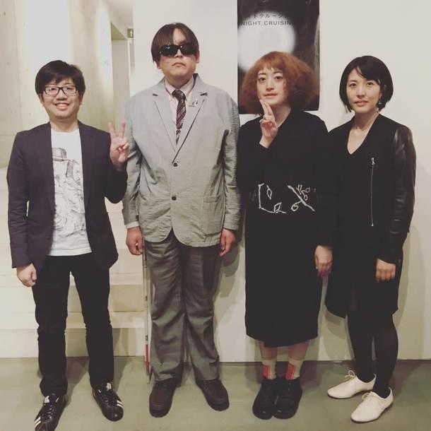 佐々木誠、加藤秀幸、能町みね子、田中みゆき