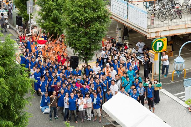 2017年開催時の実行委員やボランティアスタッフ