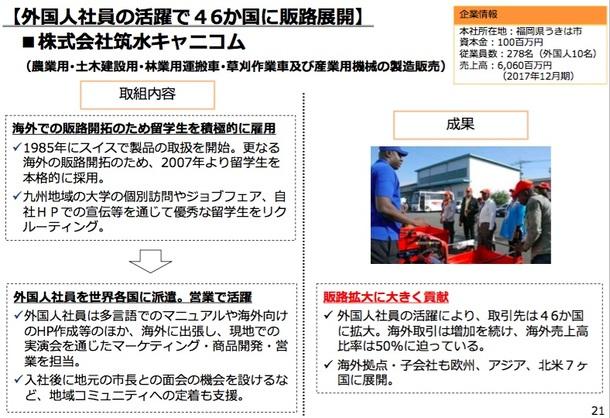 【画像】外国人材活用事例集3