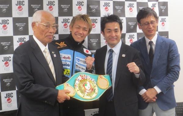 日越ボクシング記者発表2018