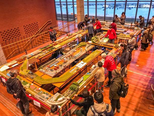 岩見沢鉄道模型祭1