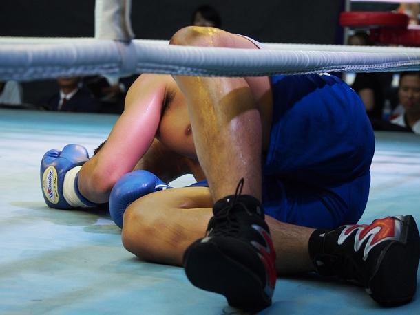 サムライボクシングジム トン選手